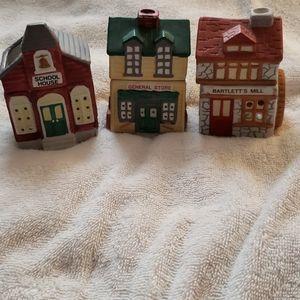 Tealight houses